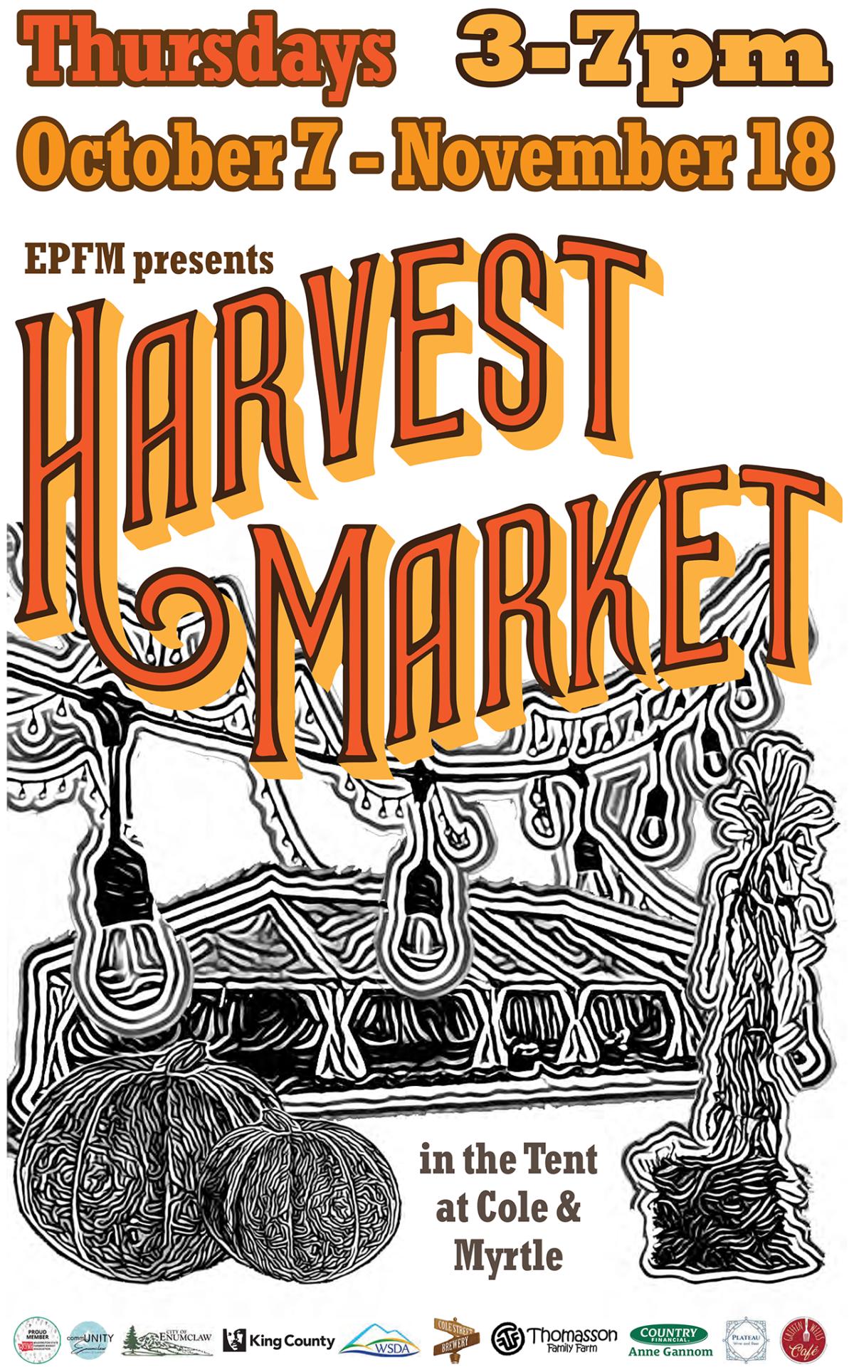 Harvest Market Week 1 Vendor List